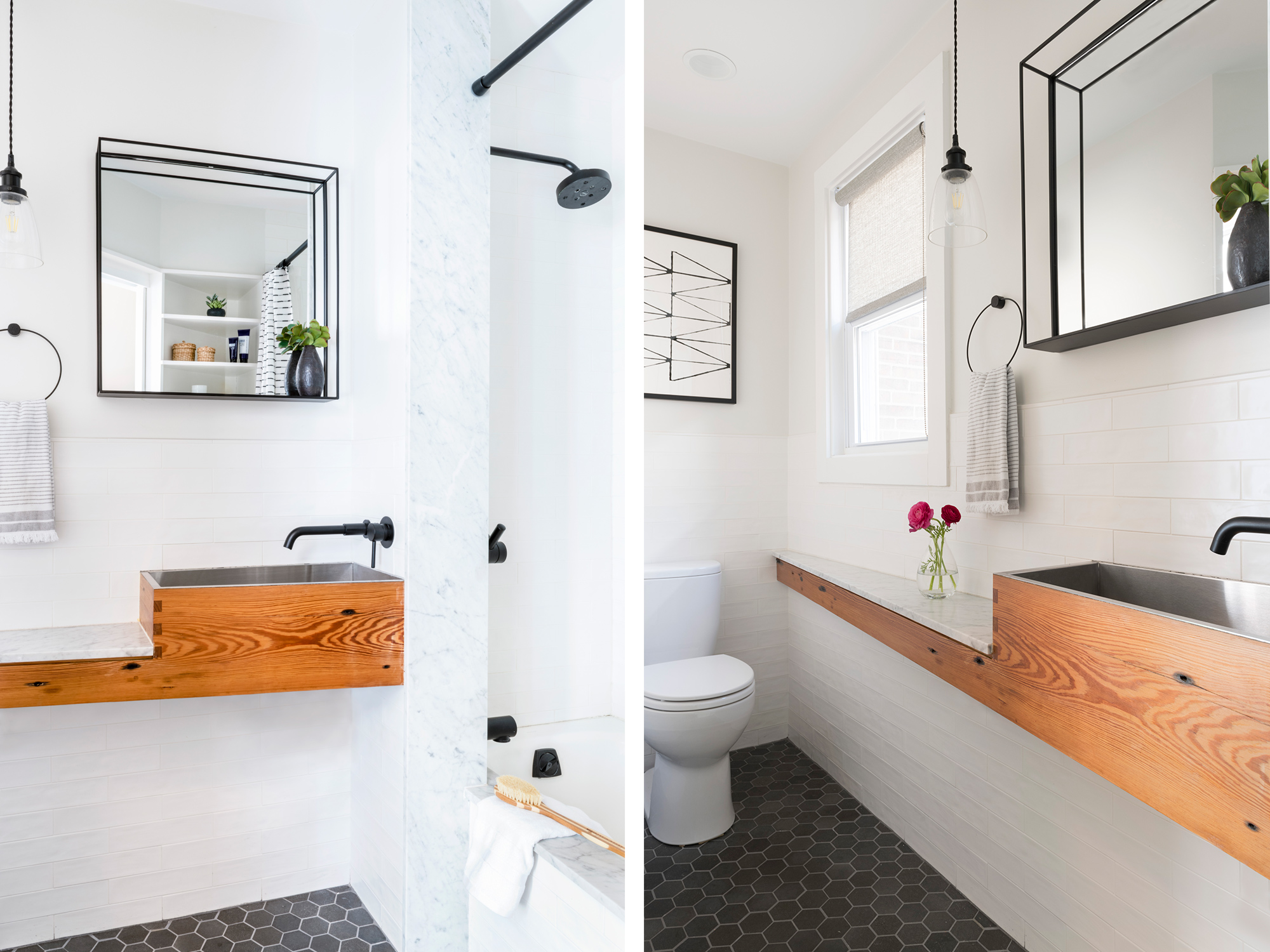 Chestnut Bathroom Remodel by Shake Architecture and Construction