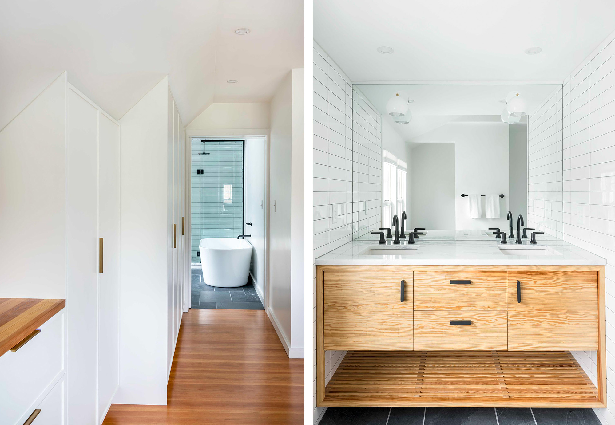 Jamaican Plain Bathroom Remodel by Shake Architecture